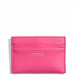 COACH F69917 Darcy Card Case In Leather