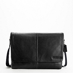 CAMDEN PEBBLED MESSENGER - f70423 - F70423SVBK