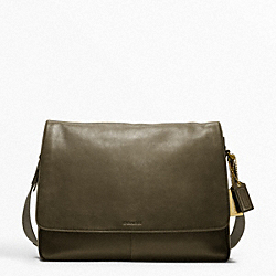 COACH F70486 Bleecker Legacy Leather Courier Bag