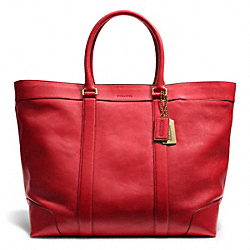 COACH F70487 Bleecker Leather Weekend Tote