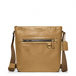 COACH F70488 - BLEECKER LEATHER FIELD BAG ONE-COLOR