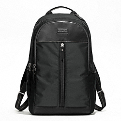 COACH F70664 Varick Nylon Backpack