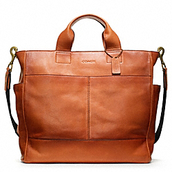 COACH F70721 Bleecker Leather Utility Tote