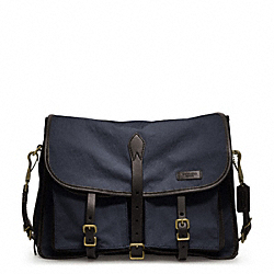 COACH F70854 Bleecker Tough Canvas Messenger