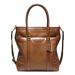 COACH F70857 - BLEECKER LEATHER TOTE ONE-COLOR