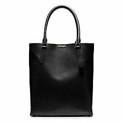 COACH F70898 - BLEECKER LEATHER PERRY TOTE ONE-COLOR
