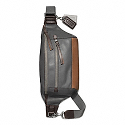 COACH F70899 Thompson Leather Colorblock City Pack