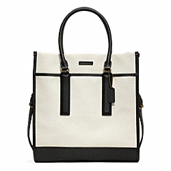 COACH F70900 - LEGACY CANVAS TOTE ONE-COLOR