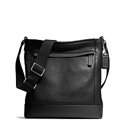 COACH F70920 Camden Leather Tech Crossbody