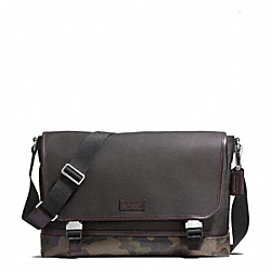COACH F70941 - HERITAGE SIGNATURE CANVAS MESSENGER ONE-COLOR