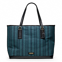COACH F70969 - BLEECKER WOVEN MARKET TOTE ONE-COLOR