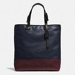 COACH F71395 Bleecker Shopper In Colorblock Leather  B4D23