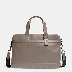 COACH F71561 - HUDSON BAG IN SMOOTH LEATHER FOG
