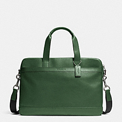 COACH F71561 - HUDSON BAG IN SMOOTH LEATHER FERN