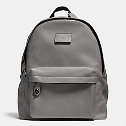 CAMPUS BACKPACK IN REFINED PEBBLE LEATHER - f71622 - QBASH