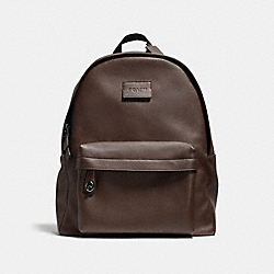 CAMPUS BACKPACK - F71622 - DARK BROWN/BLACK ANTIQUE NICKEL