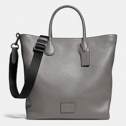 MERCER TOTE IN PEBBLE LEATHER - f71647 - QBASH