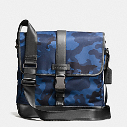 COACH F71662 Varick Map Bag In Nylon  NAVY/BLACK