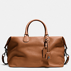 COACH F71666 - EXPLORER BAG IN PEBBLE LEATHER ANTIQUE NICKEL/SADDLE