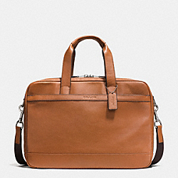 COACH F71701 - HUDSON COMMUTER IN LEATHER  SADDLE