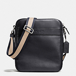 COACH F71723 Flight Bag In Smooth Leather MIDNIGHT