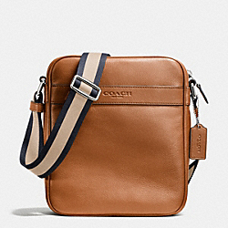 COACH F71723 Flight Bag In Smooth Leather SADDLE