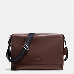 COACH F71726 Sullivan Messenger In Smooth Leather MAHOGANY
