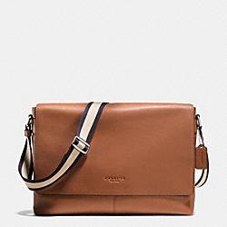 COACH F71726 Sullivan Messenger In Smooth Leather SADDLE