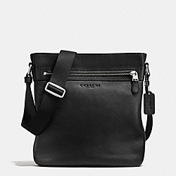 COACH F71745 Tech Crossbody In Smooth Leather BLACK