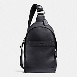 COACH F71751 Campus Pack In Smooth Leather MIDNIGHT