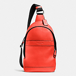 COACH F71751 Campus Pack In Smooth Leather ORANGE