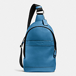 COACH F71751 - CAMPUS PACK IN SMOOTH LEATHER SLATE