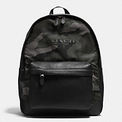 COACH F71755 Campus Backpack In Printed Nylon E83