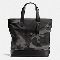 COACH F71758 Mercer Tote In Printed Nylon E83