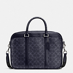 COACH F71794 Slim Brief In Signature DENIM