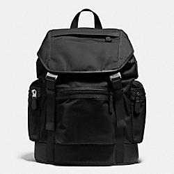 COACH F71884 Trek Pack In Nylon BLACK