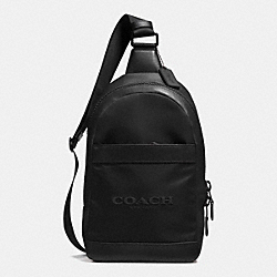 COACH F71972 Campus Pack In Nylon BLACK