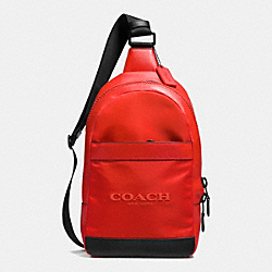 COACH F71972 Campus Pack In Nylon CARMINE