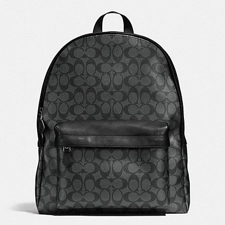 Coated Canvas Signature Campus Pack bag Coach rebDKPr