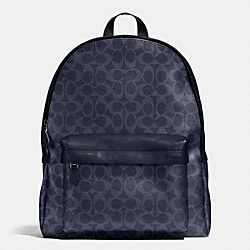 COACH F71973 Campus Backpack In Signature DENIM/NAVY