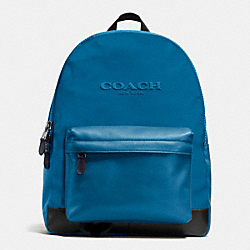 COACH F71975 Campus Backpack In Nylon DENIM