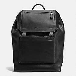 MANHATTAN BACKPACK - F71989 - BLACK/BLACK ANTIQUE NICKEL
