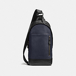 COACH F72096 Manhattan Sling Pack MIDNIGHT/BLACK/BLACK ANTIQUE NICKEL