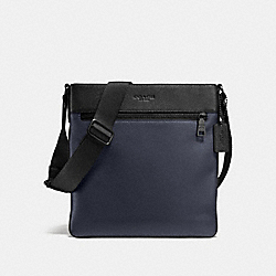COACH F72101 Bowery Crossbody MIDNIGHT NAVY/BLACK/BLACK ANTIQUE NICKEL