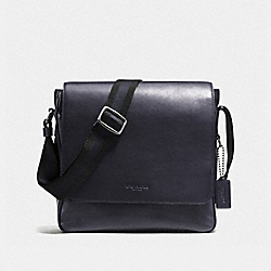COACH F72116 Metropolitan Map Bag ANTIQUE NICKEL/MIDNIGHT