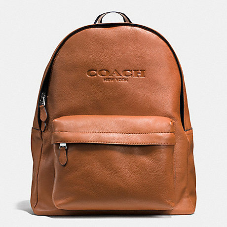 f3d92d211761 COACH F72120 - CAMPUS BACKPACK IN SMOOTH LEATHER - SADDLE