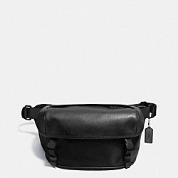 TERRAIN PACK IN PERFORATED LEATHER - f72234 - BLACK