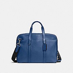 COACH F72318 - METROPOLITAN SOFT BRIEF INDIGO/MIDNIGHT NAVY/BLACK ANTIQUE NICKEL