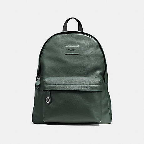 COACH F72320 CAMPUS BACKPACK RACING GREEN/BLACK ANTIQUE NICKEL