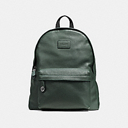 COACH F72320 - CAMPUS BACKPACK RACING GREEN/BLACK ANTIQUE NICKEL